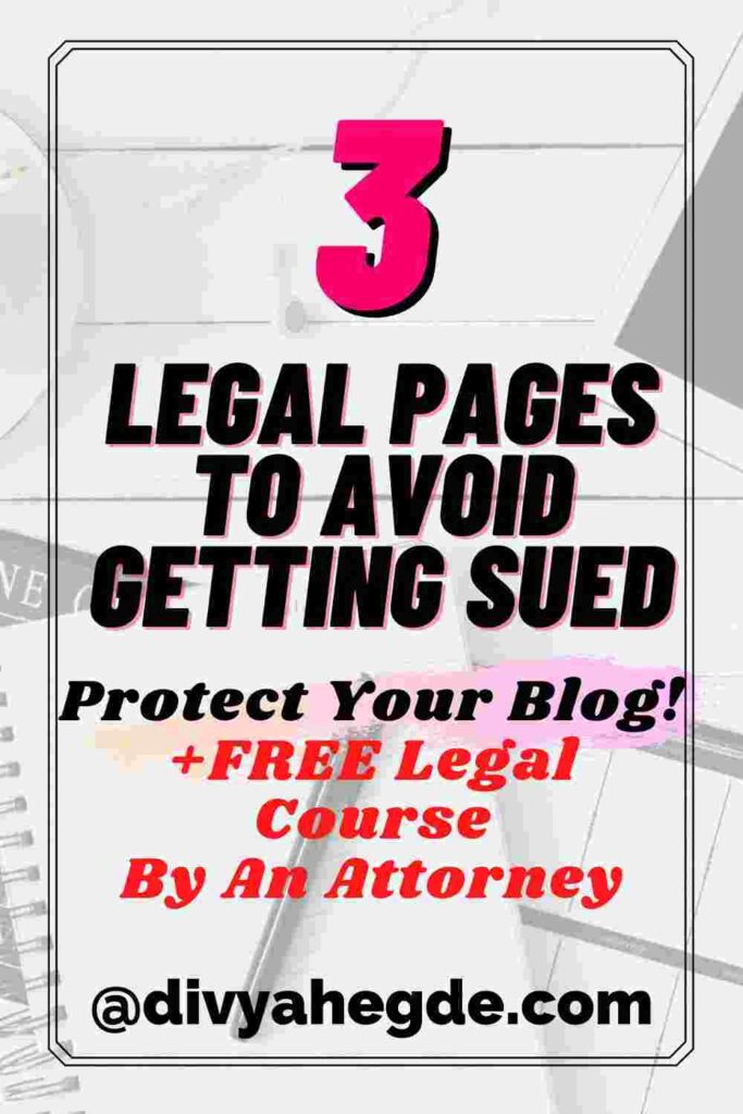 important-legal-pages-image
