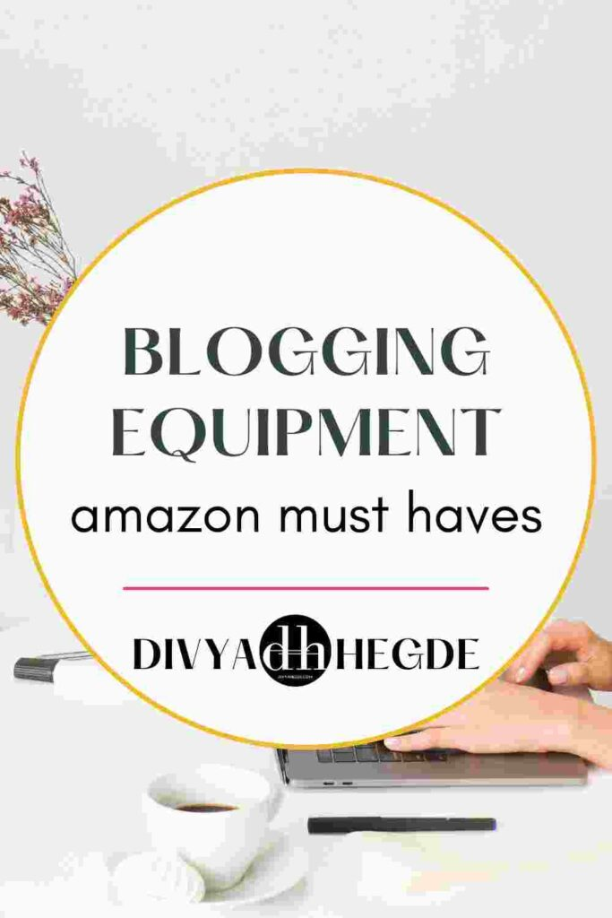 With the right equipment, blogging gets easier. Here's a list of must have blogging equipment from amazon.
