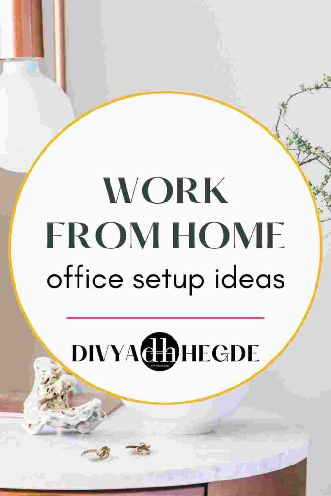 Work from home office setup essentials for maximum productivity.