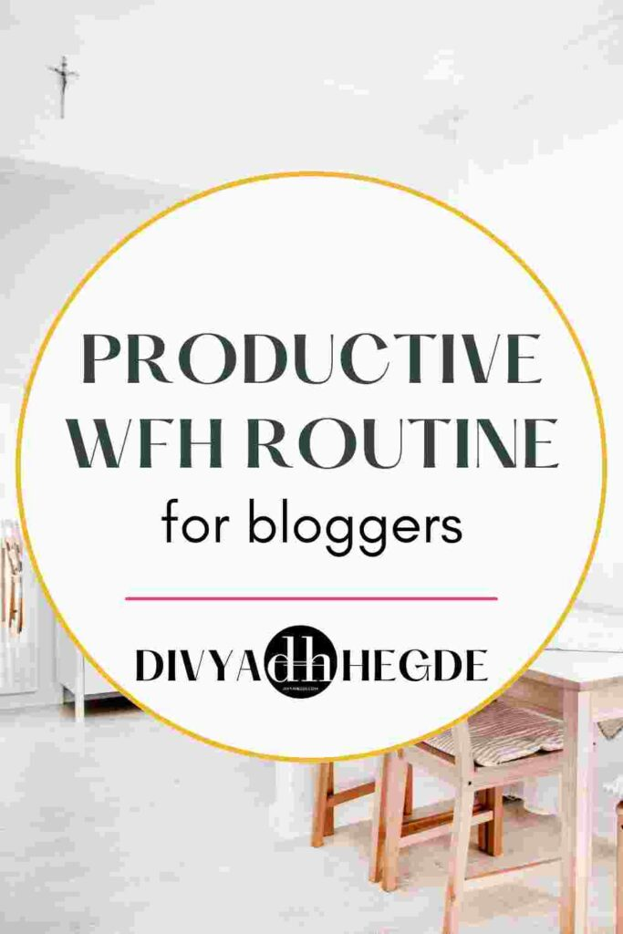 Creating a productive blogging routine while working from home is a task in itself. These tips will help you create one that is realistic and achievable.