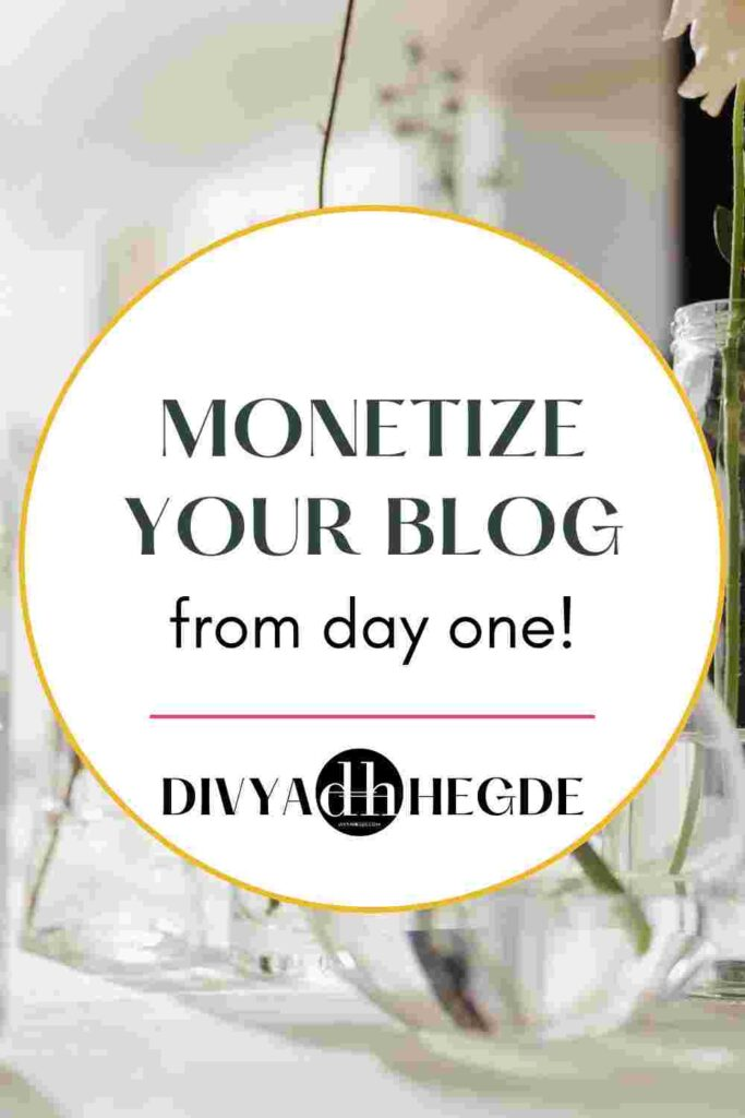 Monetize your blog on WordPress from day one with these unique ways.