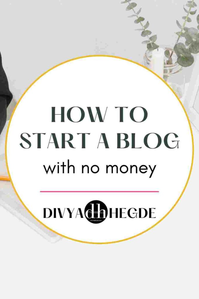 A step by step guide to start a WordPress blog with no money.