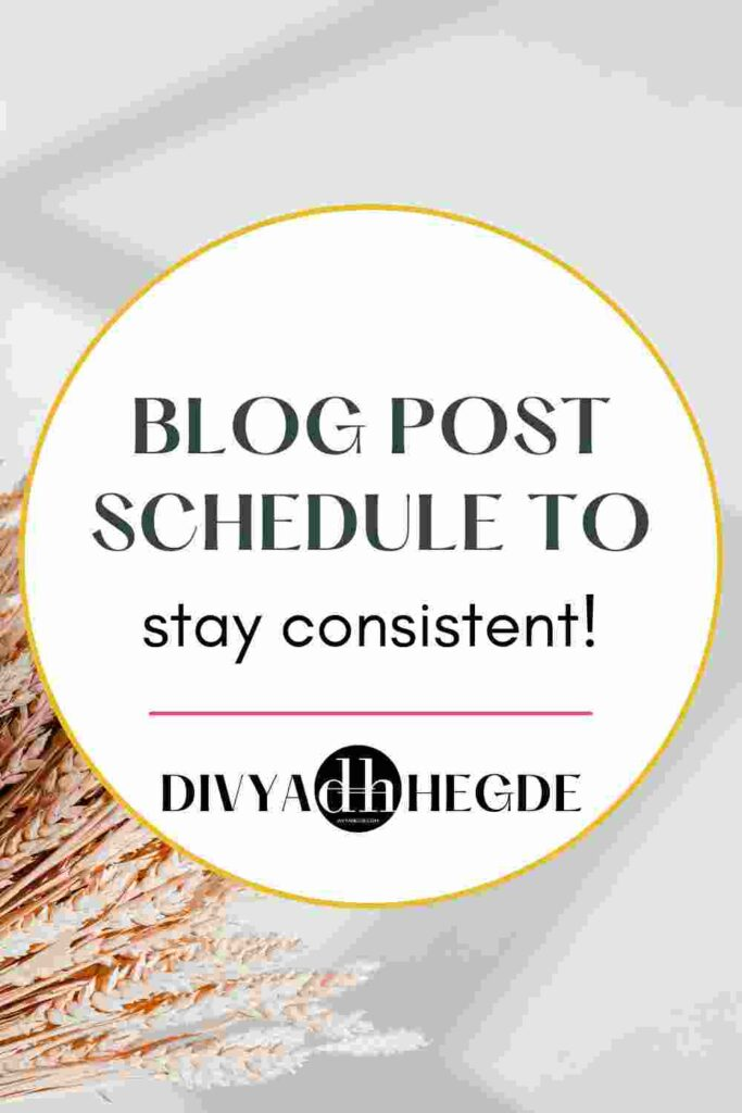Planning a blog post schedule to stay consistent is not that hard. Create a blog post schedule that actually makes money.
